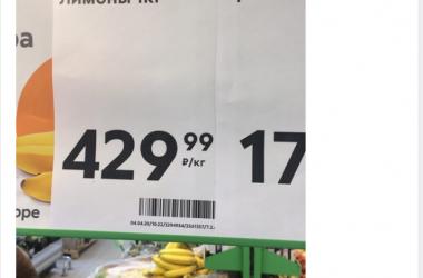 В кирове цены на лимоны и имбирь пошли вверх