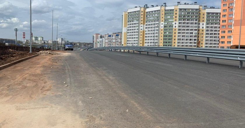 Возобновлено строительство дорог в микрорайоне Чистые пруды