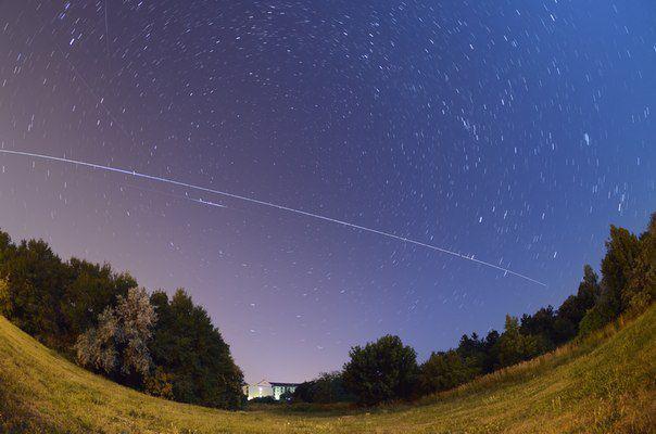 Кировчане смогут наблюдать МКС в небе в мае