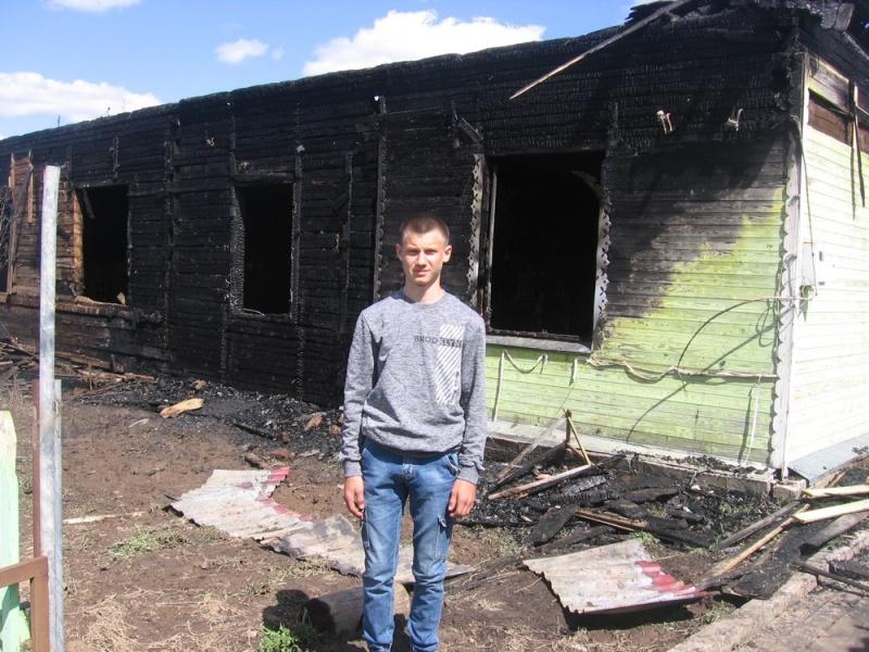 В Кировской области школьника наградят за помощь при пожаре