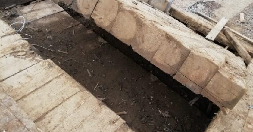 Жители Афанасьевского района жалуются на разрушенный мост через Каму