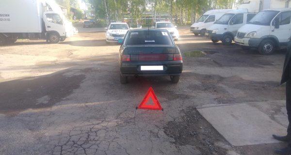 В Кирове пьяный водитель сбил пешехода
