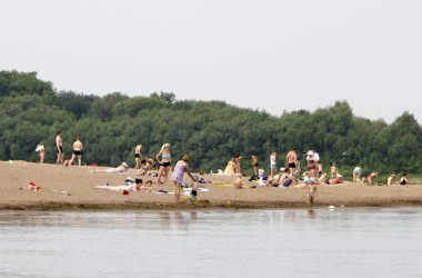 Первый пляж открылся в Кировской области