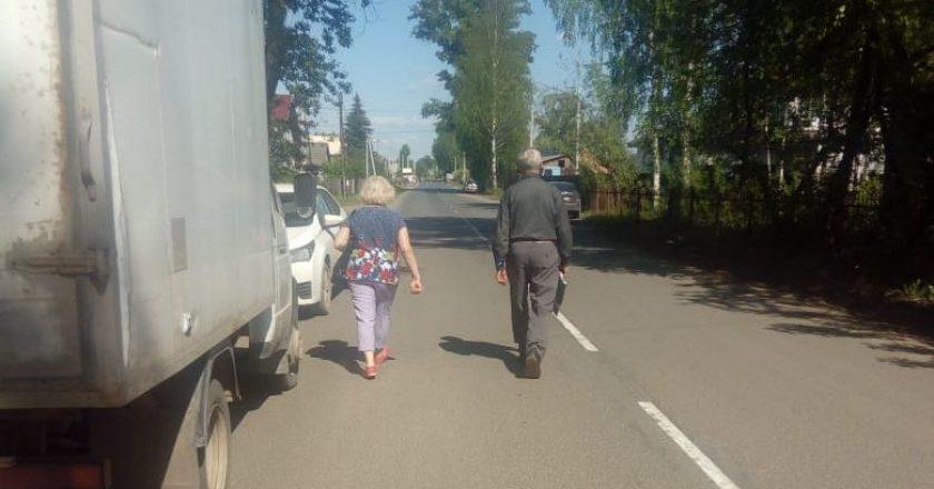 ОНФ призвал администрацию Кирова восстановить демонтированный по ошибке тротуар в Коминтерне