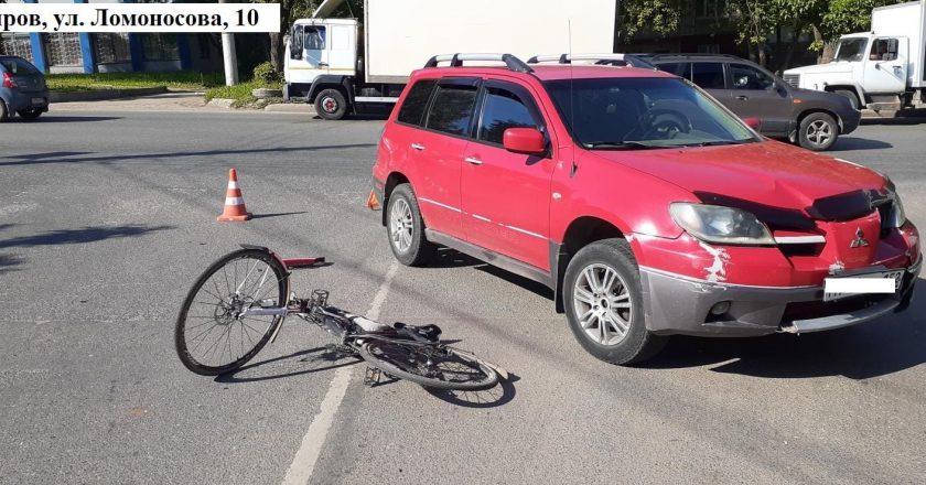 В Кирове сбили велосипедиста