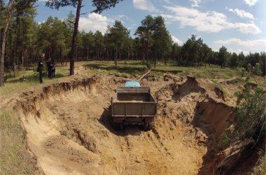 Кировчанина подозревают в незаконной добыче песка на 2,5 млн рублей