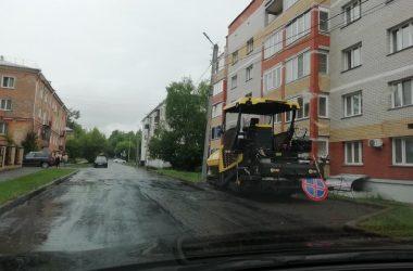 ремонт цулицы Казанской в Кирове