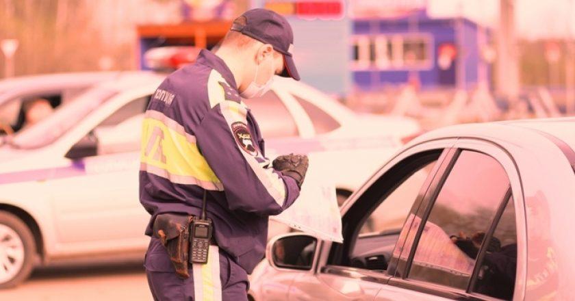 В Кирове ГИБДД ловит пьяных водителей