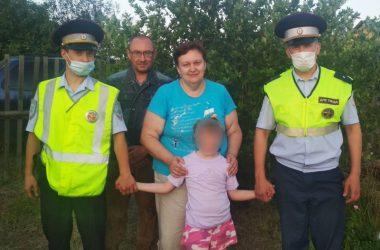 В Кирове сотрудники ГИБДД нашли пропавшего ребенка