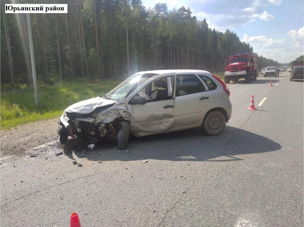 смертельная авария в юрьянском районе 6 июля