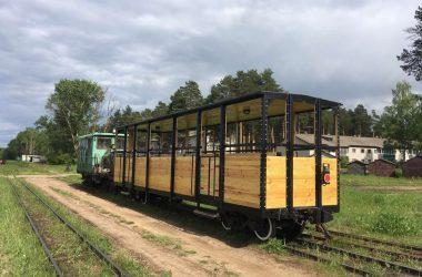 Музей железной дороги в Кирово-Чепецке запустил открытый вагон