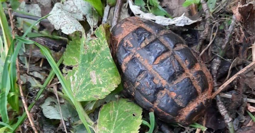 В Кирове обнаружили боевую гранату
