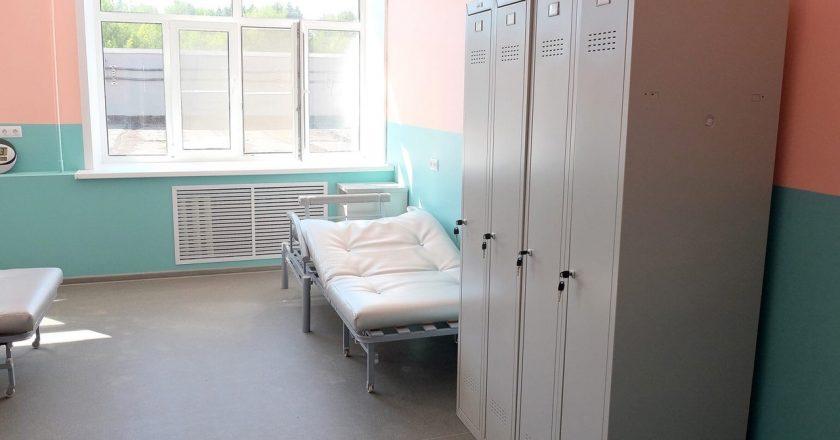 В Кировской области ведутся масштабные ремонтные работы на станциях Единой службы скорой медицинской помощи