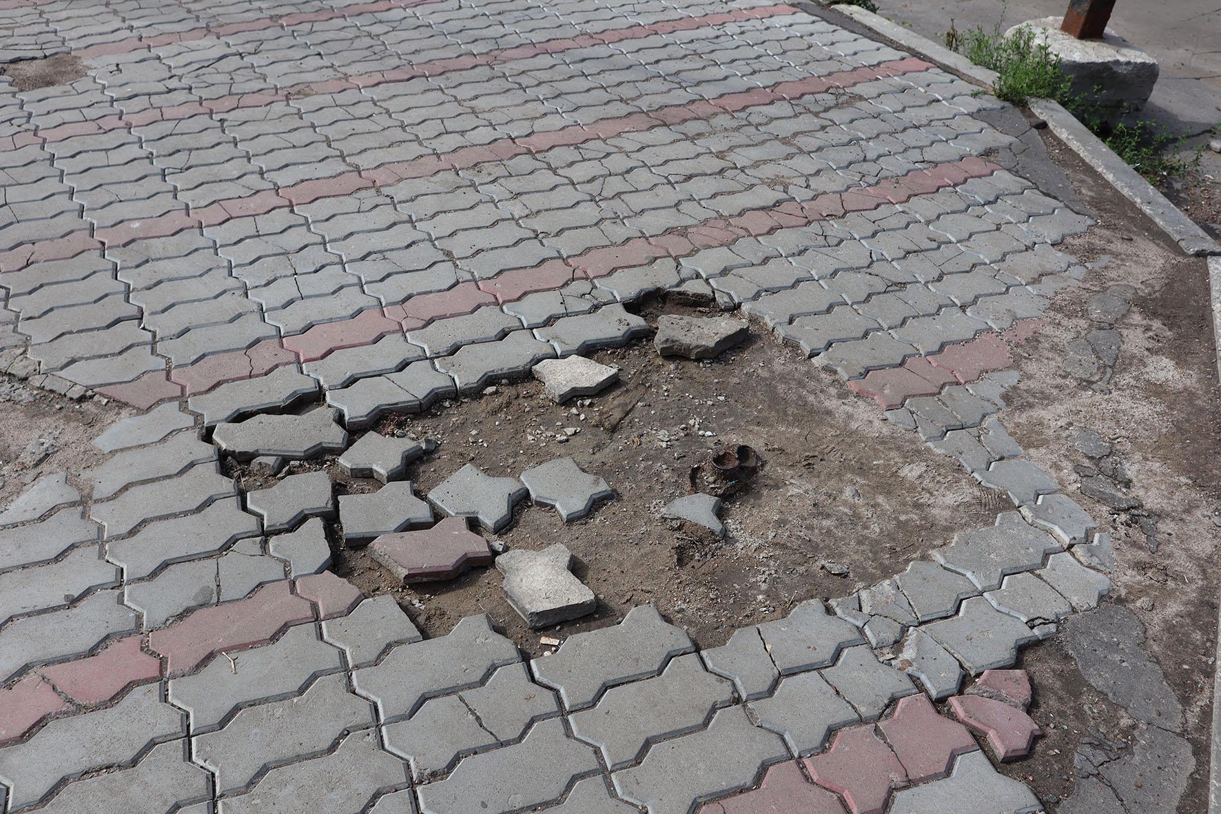 Тротуары в Кирове