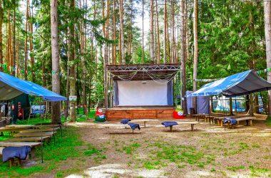 В Кировской области в парке открыли кинотеатр