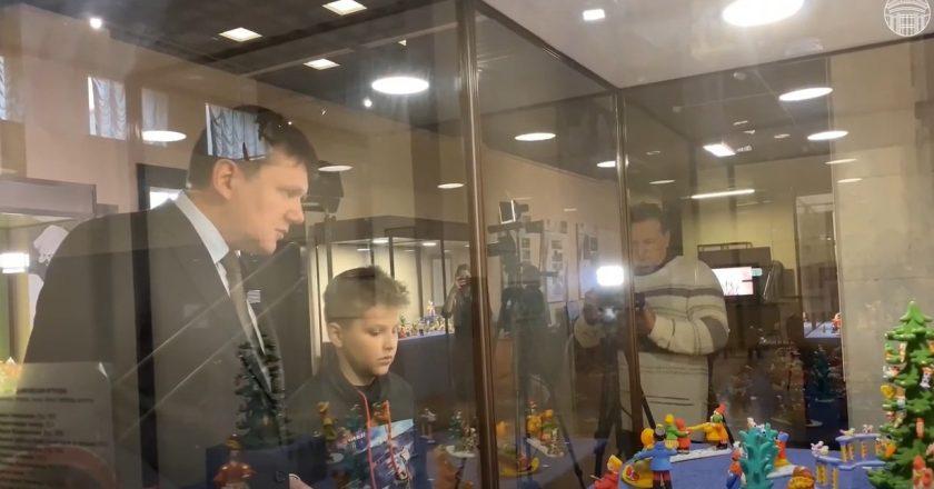 В Кирове снимают фильм о дымковской игрушке