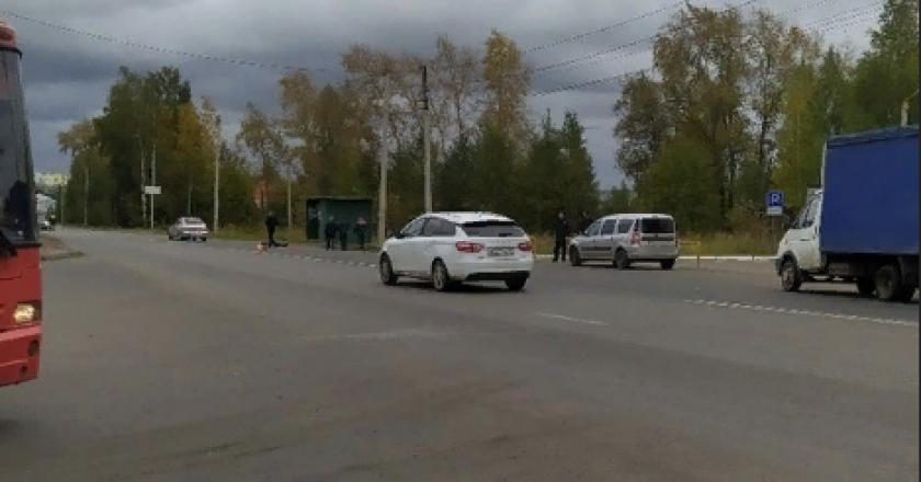 14 сентября в Кирове сбили насмерть человека