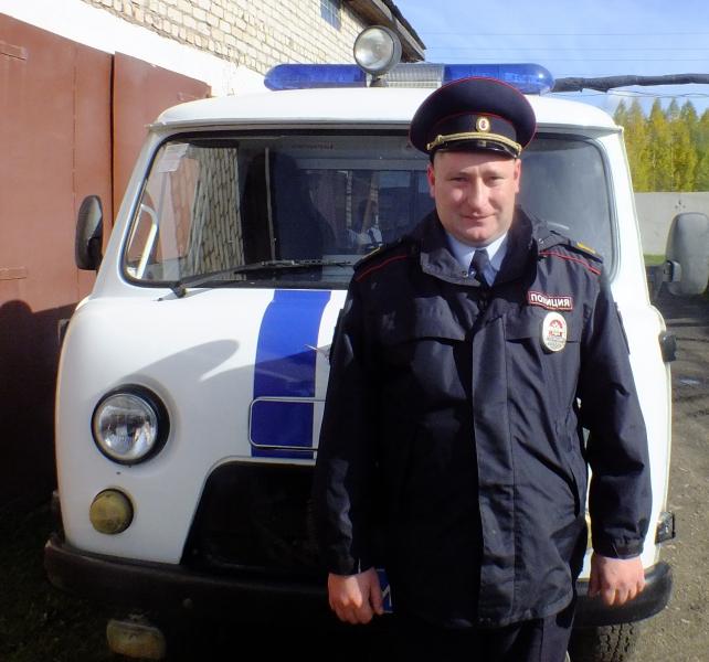 В Кировской области полицейский вывел из леса двух мужчин