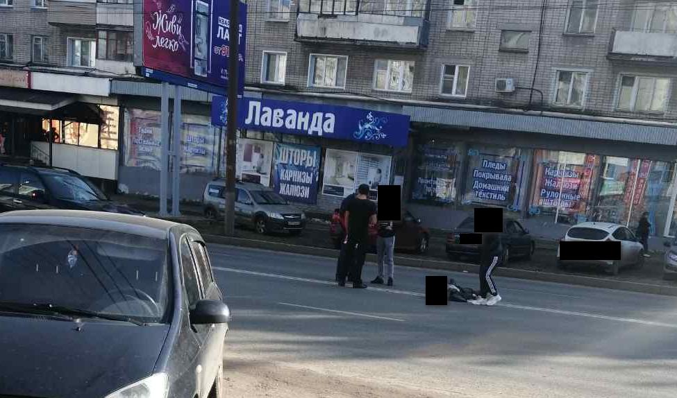 В Кирове сбили человека в субботу днём, 26 сентября
