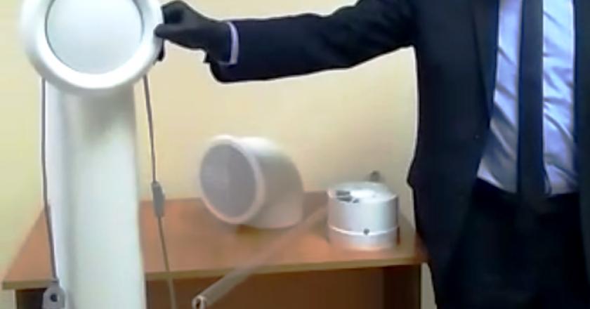 В кирове ржд изобрели устновку для обеззараживания воздуха