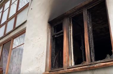 В Кирове при пожаре в квартире пострадала женщина