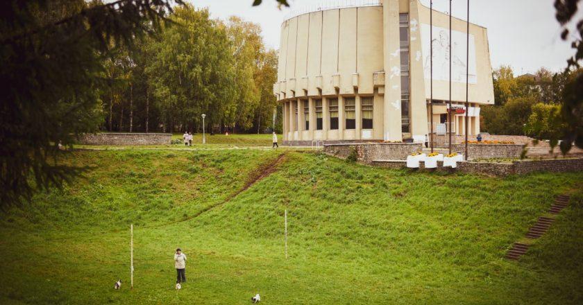 парк имени Кирова, диорама