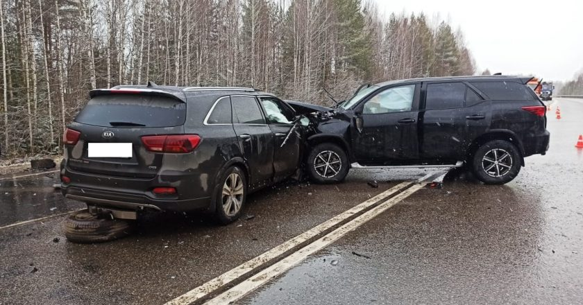 В Кировской области в ДТП погибли два человека и двое ранены