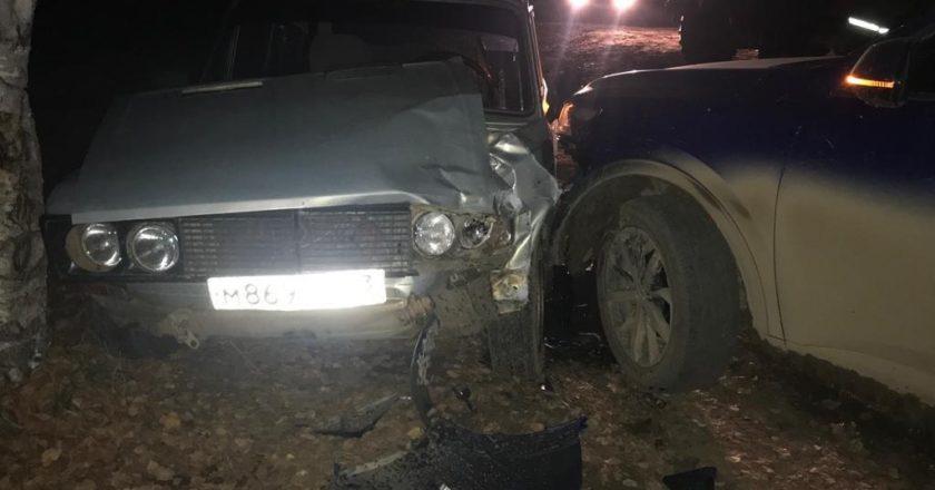 В Кирове в аварии пострадал ребёнок