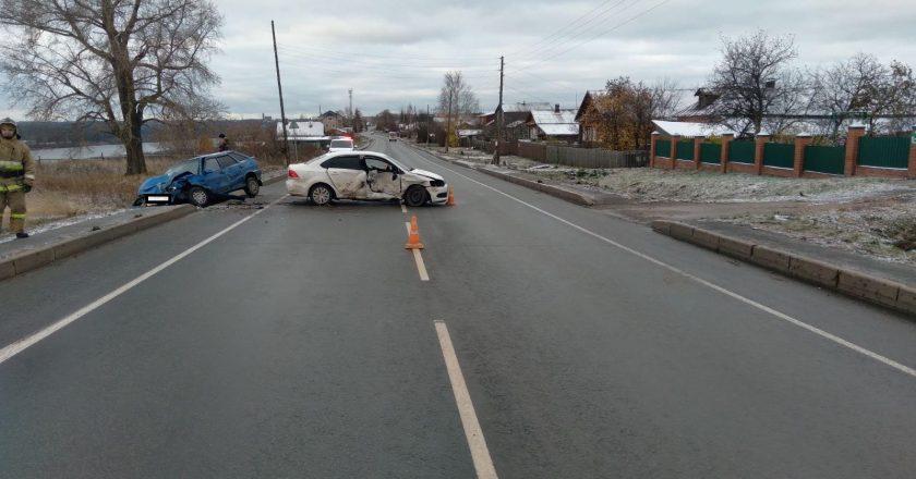 В Кировской области в ДТП пострадали три человека