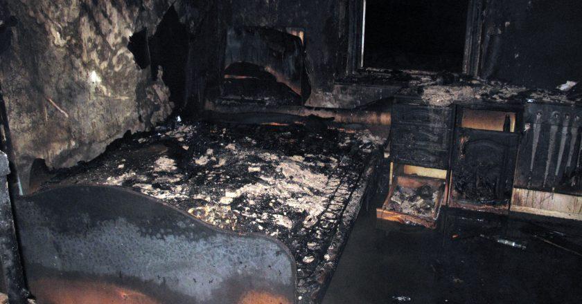 В отношении жителя Вятскополянского района возбуждено уголовное дело за причинение смерти по неосторожности своей соседке, погибшей в результате пожара