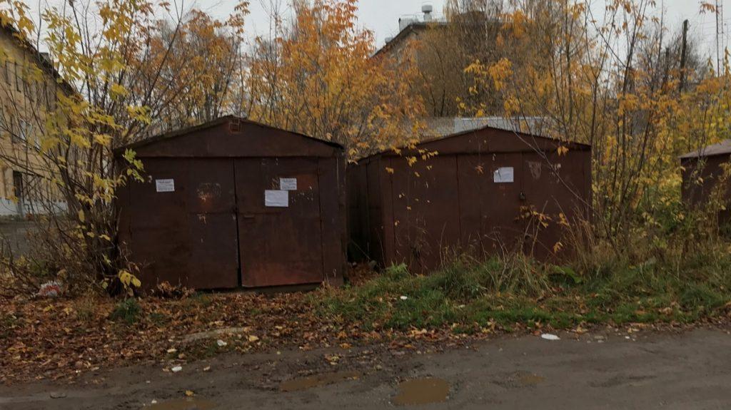 7 гаражей на улице Свердлова будут демонтированы