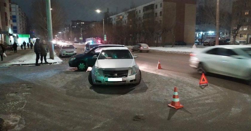 В Кирове в ДТП пострадала женщина