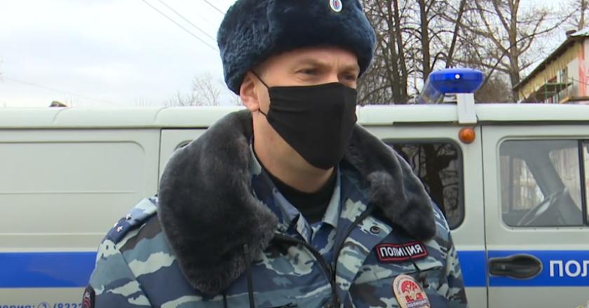 В Кировской области выбрали лучшего сотрудника патрульно-постовой службы