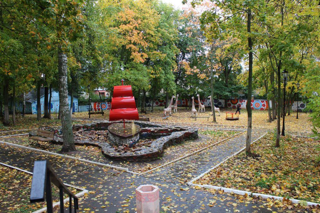 В Кирове благоустроят парк Аполло