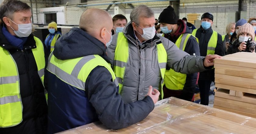 Губернатор Кировской области посетил «ИКЕА Индастри Вятка»