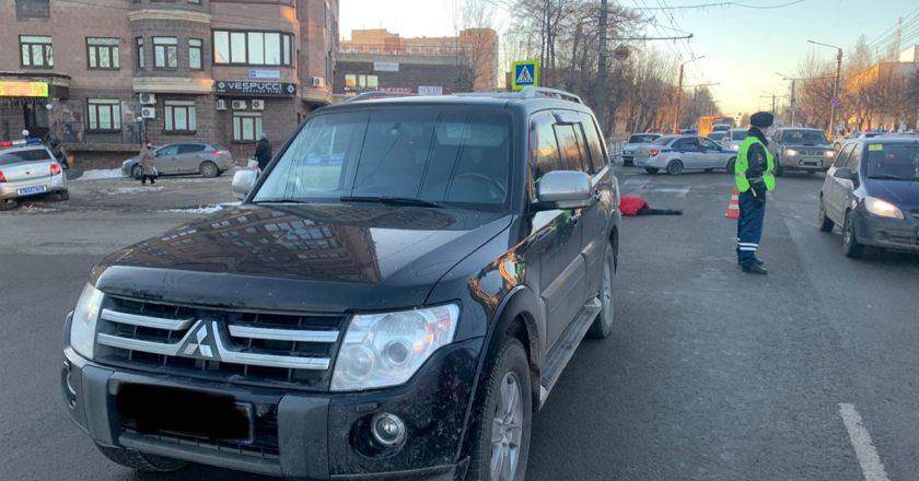 В центре Кирова внедорожник сбил насмерть пешехода