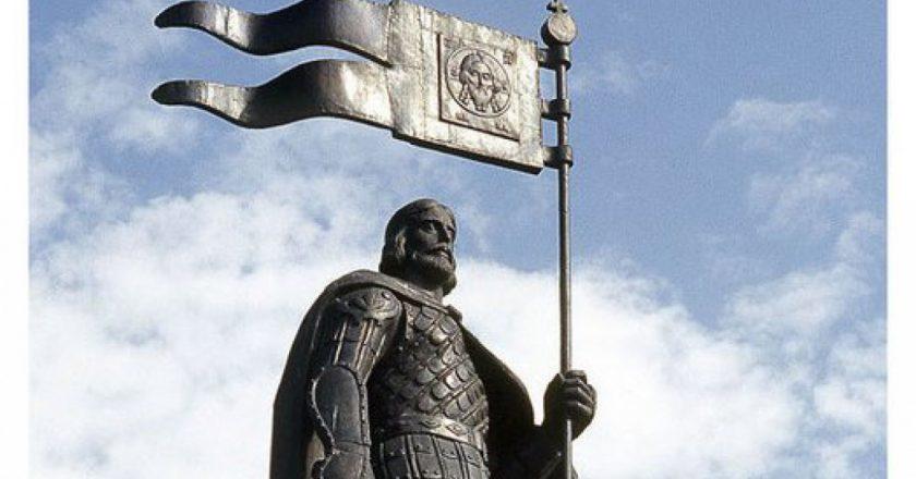 У филармонии предлагают установить памятник князю Александру Невскому