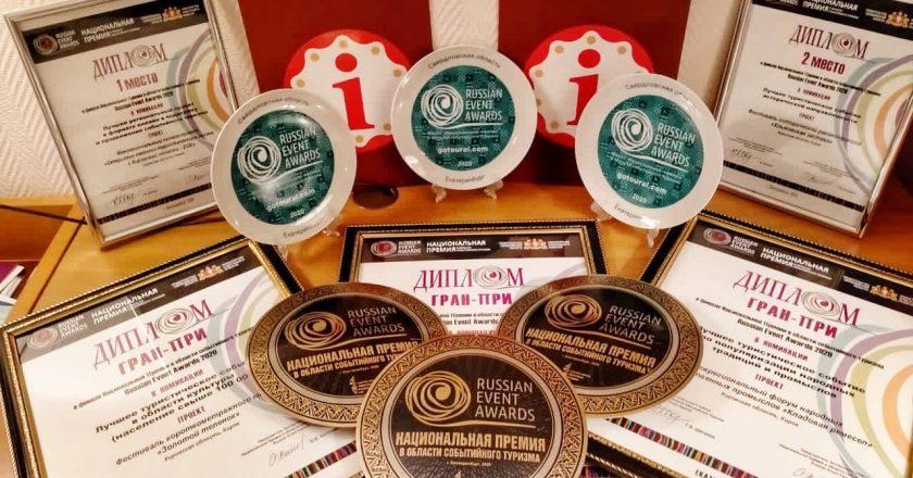 Стали известны итоги Национальной премии в области событийного туризма. Кировские проекты - в числе лучших в стране! Большинство из разработал Центр развития туризма Кировской области.