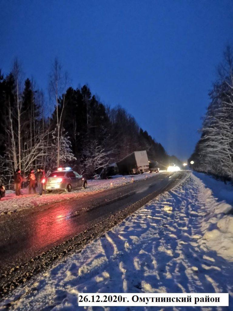 В кировской области в ДТП погибли два человека