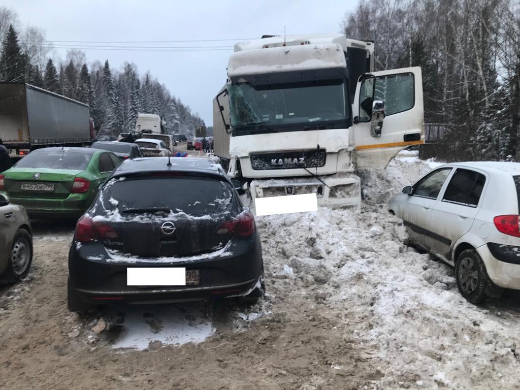 Массовое ДТП в Кировской области