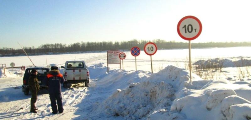 Первые ледовые переправы открыли в Кировской области