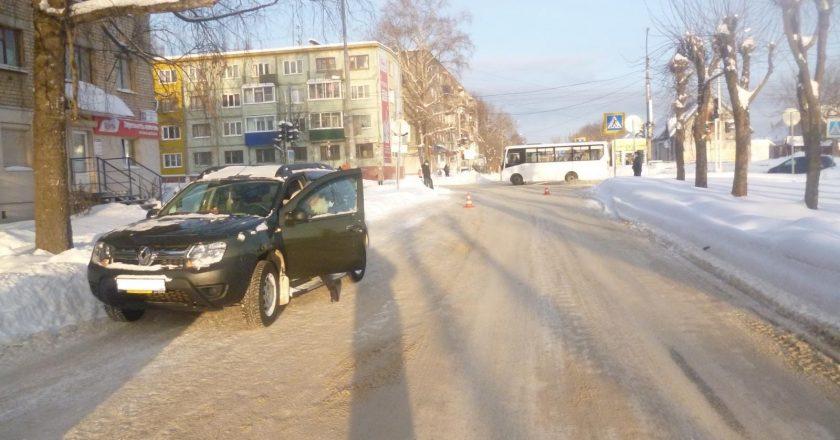 ДТп в Кирово-Чепецке 18 января