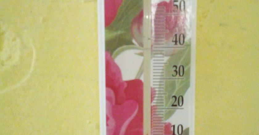 В Опаринском районе температура в школе и жилых домах опустилась до 5 градусов