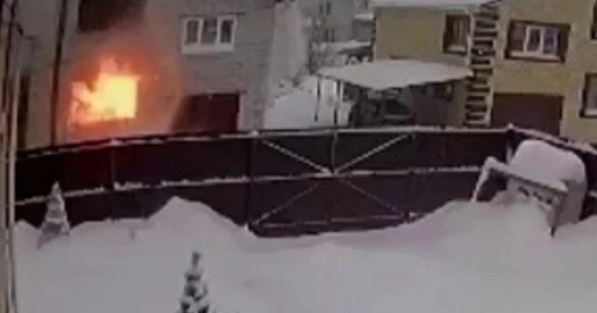 В Кирове в частном доме прогремел взрыв