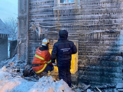 В Кирове сегодня ночью произошёл крупный пожар. Огонь унёс жизни пяти человек, среди которых четверо несовершеннолетних.