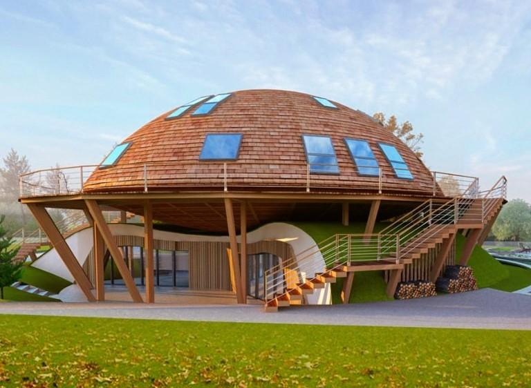 В точке активности НЛО под Котельничем строят вращающийся дом