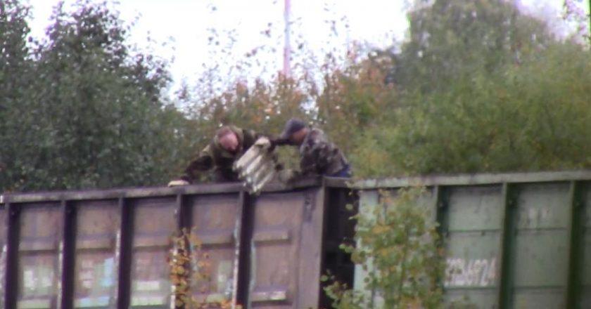 кража из вагона Омутнинск